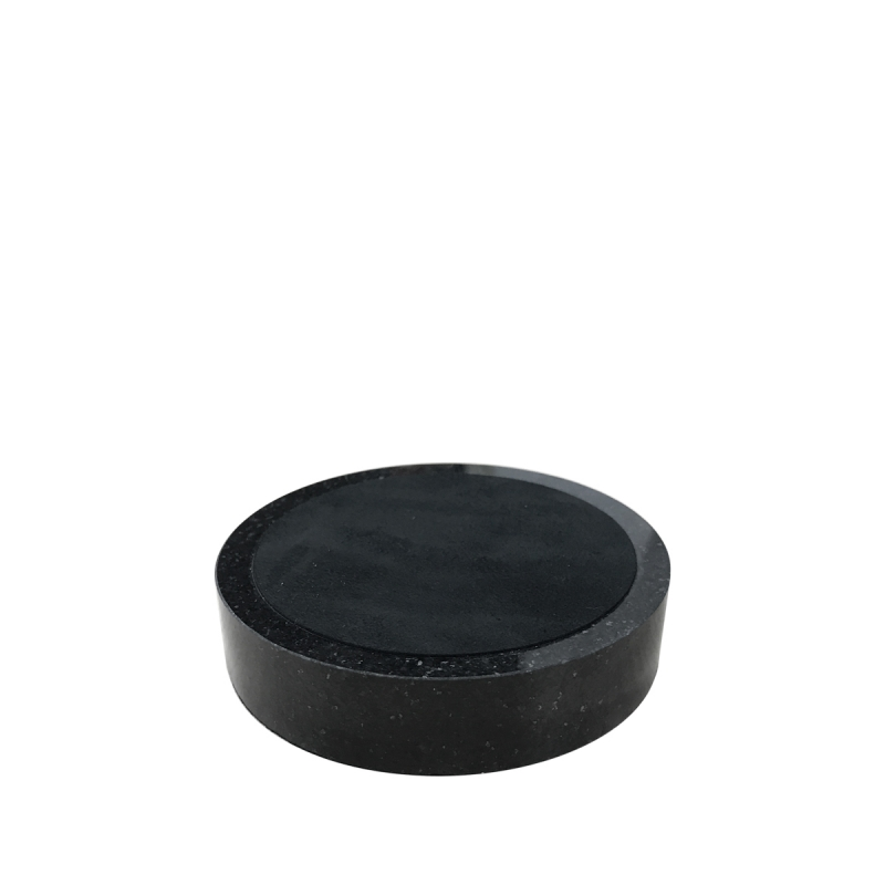 "3.5"" Round Black Granite Base"